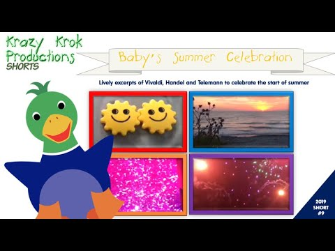 Baby's Summer Celebration - A 4th Of July Mini Movie