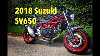 7. Top 5 things I love about the 2018 Suzuki SV650