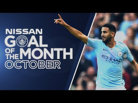 Video: OCTOBER GOAL OF THE MONTH 18/19 | Mahrez, Weir, Bernardo, Stanway