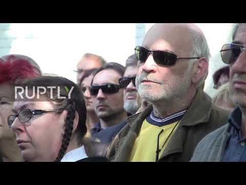 Serbia: Funeral held for Mira Markovic, Slobodan Milosevic's wife