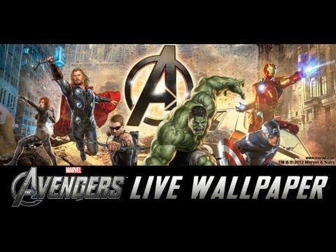 Video of The Avengers Live Wallpaper
