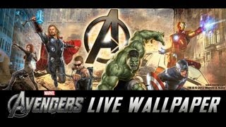 The Avengers Live Wallpaper YouTube video
