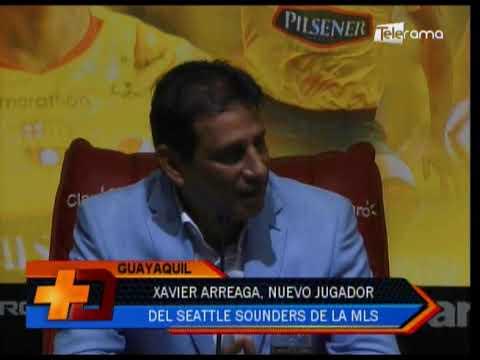 Xavier Arrega, nuevo jugador del Seattle Sounders de la MLS