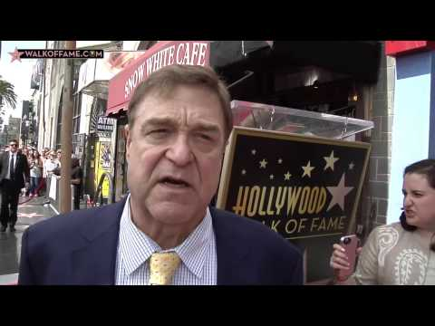 John Goodman Walk of Fame Ceremony