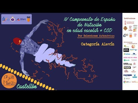 CAMPEONATO DE ESPAÑA DE NATACIÓN EN EDAD ESCOLAR