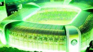 Palmeiras FC Hino vídeo com letras em inglês e português, Palmeiras hino versão em Inglês, Verdão, Alviverde, Allianz arena,...