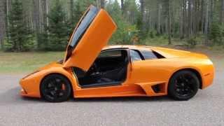 Coś pięknego! Niebywałe leśne echo dźwięku silnika Lamborghini LP640!