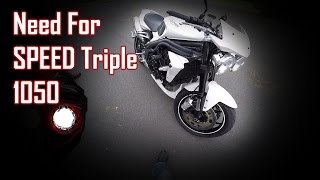 6. Need For SPEED | 2010 Triumph Speed Triple 1050