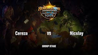 Cereza vs Nicslay, game 1