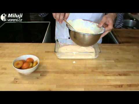 Tvarohový nákyp s meruňkami