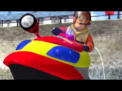 Fireman Sam US ⭐️ Jet Ski Fire Rescue 🔥 Full Episodes 🚒Sam to the Rescue! 🔥Kids Movies