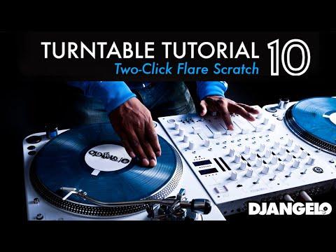 Turntable Tutorial 10 - TWO CLICK FLARE ORBIT (Mixer Scratch Technique)