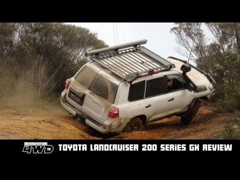 landcruiser - A complete offroad 4WD test and review of the new 200 Series GX Toyota Landcruiser including the Spanish Steps, Ranger Bobs and sections of the Poweline Trac...