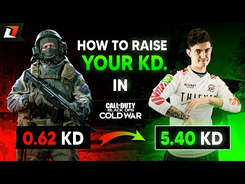 HOW TO INCREASE YOUR KD RATIO! EASY TIPS! (Black Ops Cold War)