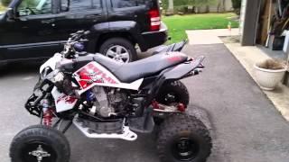 1. 2008 Polaris Outlaw MXR 450