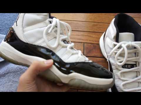how to whiten mesh on concords