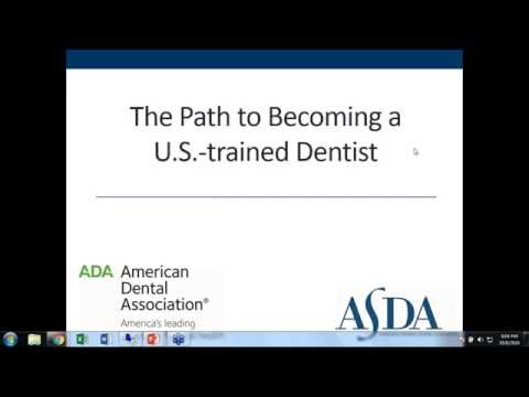 The Path to Becoming a U.S.-Trained Dentist - Predental Week Webinar