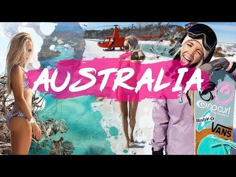 AROUND AUSTRALIA IN ONE MONTH - w/ OLYA SMESHLIVAYA