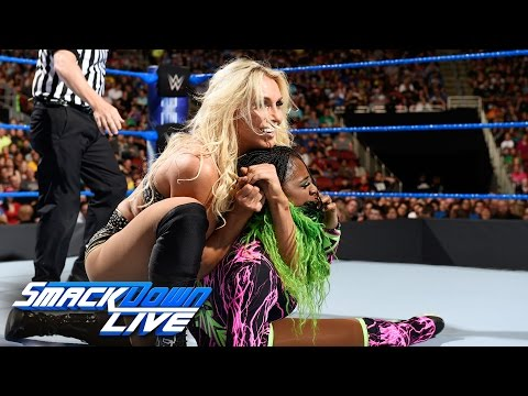 Charlotte Flair vs. Naomi: SmackDown LIVE, April 18, 2017 (видео)