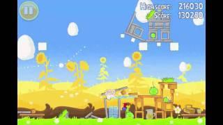 Angry Birds Seasons Summer Pignic Level 11 Walkthrough 3 Star