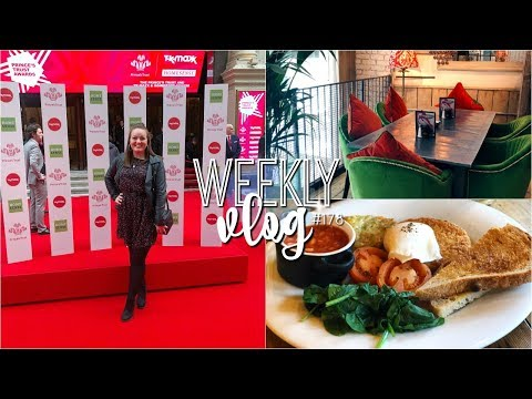 Weekly Vlog #178 | The Prince's Trust Awards 2019