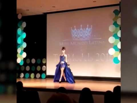 Fabiola Marrero top model 2016 miss mundo latina