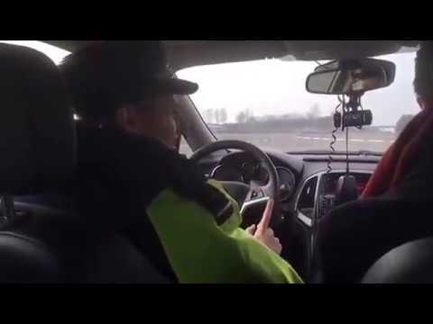 Сотрудники ГАИ на трассе Минск Брест задержали Анатолия Лебедько и Виталия Рымаш
