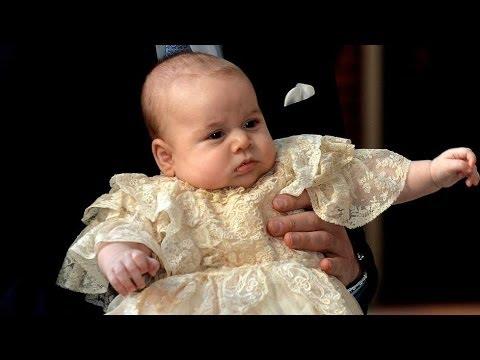 Prince George of Cambridge christened: Prince William, Kate Middleton choose seven godparents