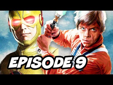 Legends Of Tomorrow Season 2 Episode 9 - TOP 10 WTF And Reverse Flash