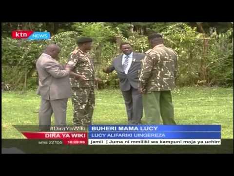 Buheri Mama Lucy Kibaki katika kaunti wa Nyeri