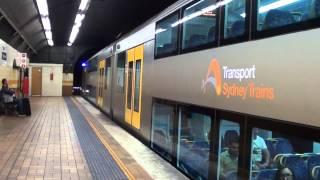 Wynyard Australia  city pictures gallery : Trains at Wynyard - Sydney Trains