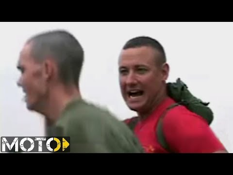 Marine Corps Drill Instructor rips recruit a new soul because he can barely run