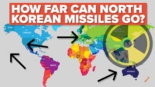 North Korea has been in the news a lot about their intercontinental ballistic missiles. But how far can those missiles really go?