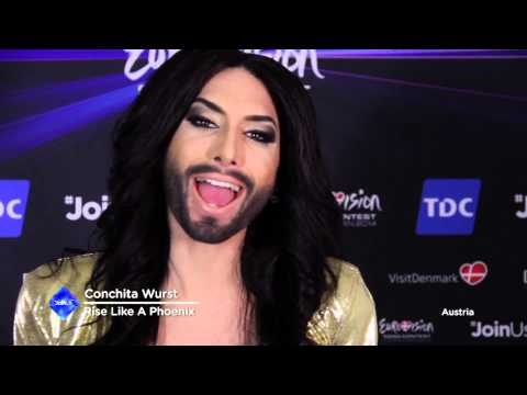 Conchita Wurst wants to thank you!