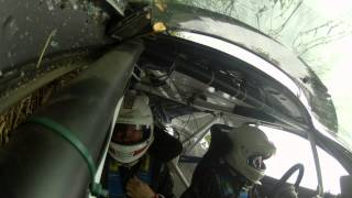 Violent Crash In A Ridiculous Tiny Car Filmed With GoPro Cameras