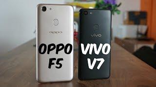 Video OPPO F5 vs Vivo V7 Comparison - Which is the better phone? MP3, 3GP, MP4, WEBM, AVI, FLV Februari 2018