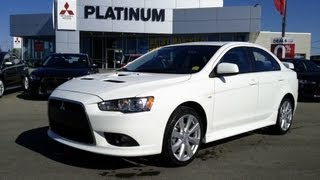 2013 Mitsubishi Ralliart Virtual Test Drive Calgary