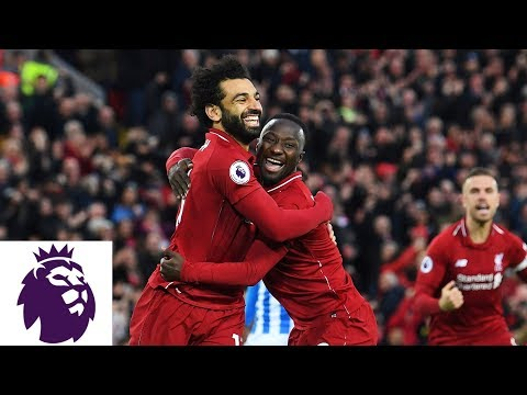 Naby Keïta Scores 15 Seconds Into Match For Liverpool V. Huddersfield | Premier League | NBC Sports
