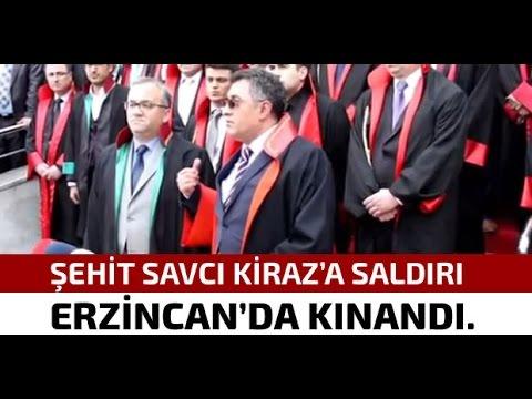 Şehit Savcı Kiraz'a Yapılan Saldırı Erzincan'da Kınandı.