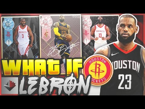 WHAT IF LEBRON JAMES JOINS THE HOUSTON ROCKETS!