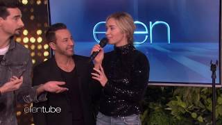 Video Emily Blunt Sings I Want It That Way With Backstreet Boys on Ellen Show MP3, 3GP, MP4, WEBM, AVI, FLV September 2019