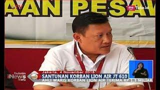 Video Lion Air Group Beri Santunan Sebesar Rp1,3 Miliar untuk Keluarga Korban Lion Air PK-LQP - BIS 05/11 MP3, 3GP, MP4, WEBM, AVI, FLV Januari 2019