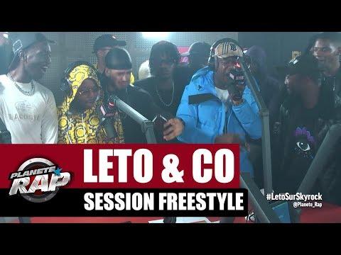 Leto, Sadek, Ninho, Da Uzi & Hös Copperfield - Session Freestyle #PlanèteRap
