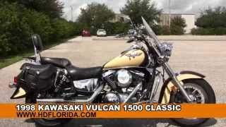 5. Used Kawasaki Vulcan 1500 Classic for sale in Tampa Fl