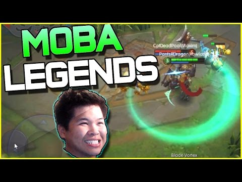 MOBA LEGENDS Gameplay | New Mobile MOBA Game