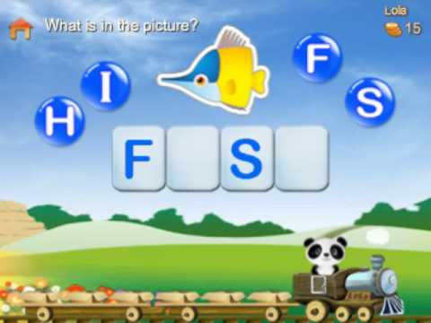 Video of Lola's Alphabet Train FREE