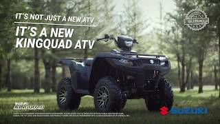 9. The New 2019 Suzuki KingQuad