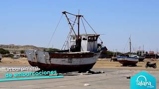 El carpintero de embarcaciones de Talara