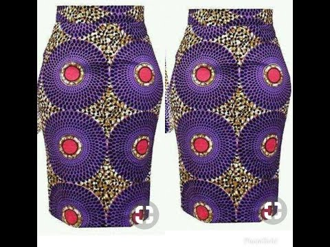 How To Make A Pencil Skirt With Ankara Fabric