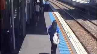 Video Baby in Pram Rolls Towards Train Tracks at West Ryde MP3, 3GP, MP4, WEBM, AVI, FLV Agustus 2017